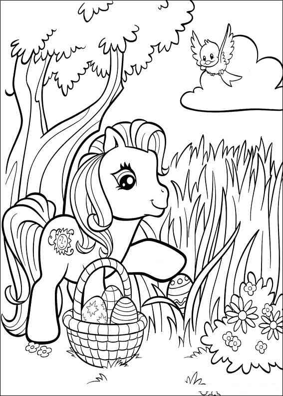 Download Easter Coloring Pages 12