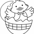 easter coloring pages 13 140x140 Easter Coloring Pages