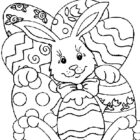easter coloring pages 14 140x140 Easter Coloring Pages