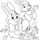 easter coloring pages 15 140x140 Easter Coloring Pages