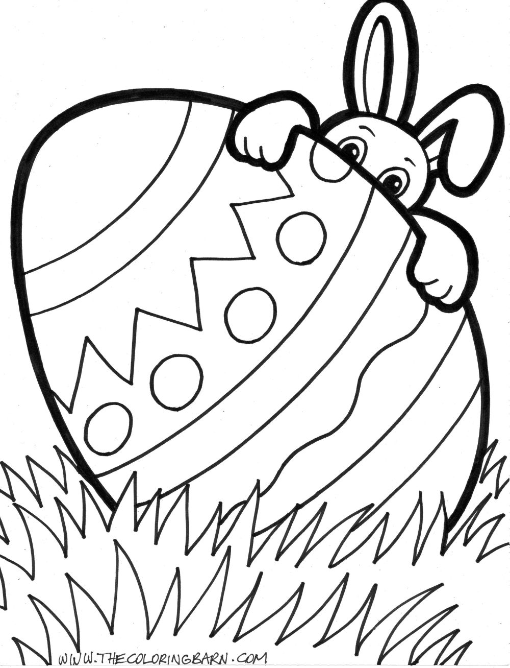 Coloring Pages To Print Easter : Easter coloring pages kids