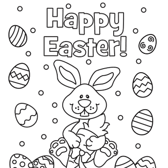 Easter Coloring Pages (2) - Coloring Kids
