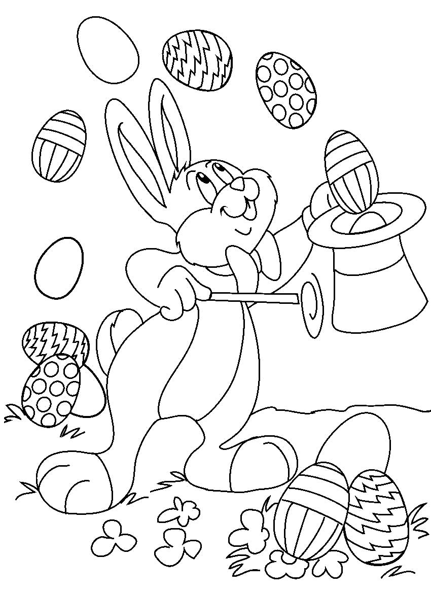 Coloring Pages Easter Easter Coloring Pages 9  Coloring Kids