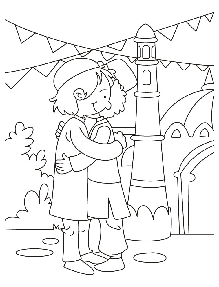Eid Coloring Pages 14