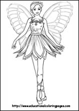 download fairies coloring pages 12