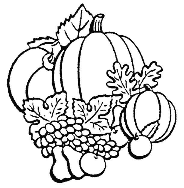 Fall Coloring Pages 7 Coloring Kids