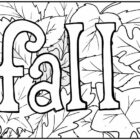 Fall Coloring Pages - Walloid