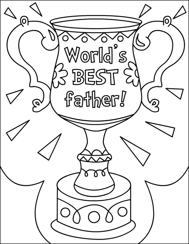 Fathers Day Coloring Pages 2 Coloring Kids