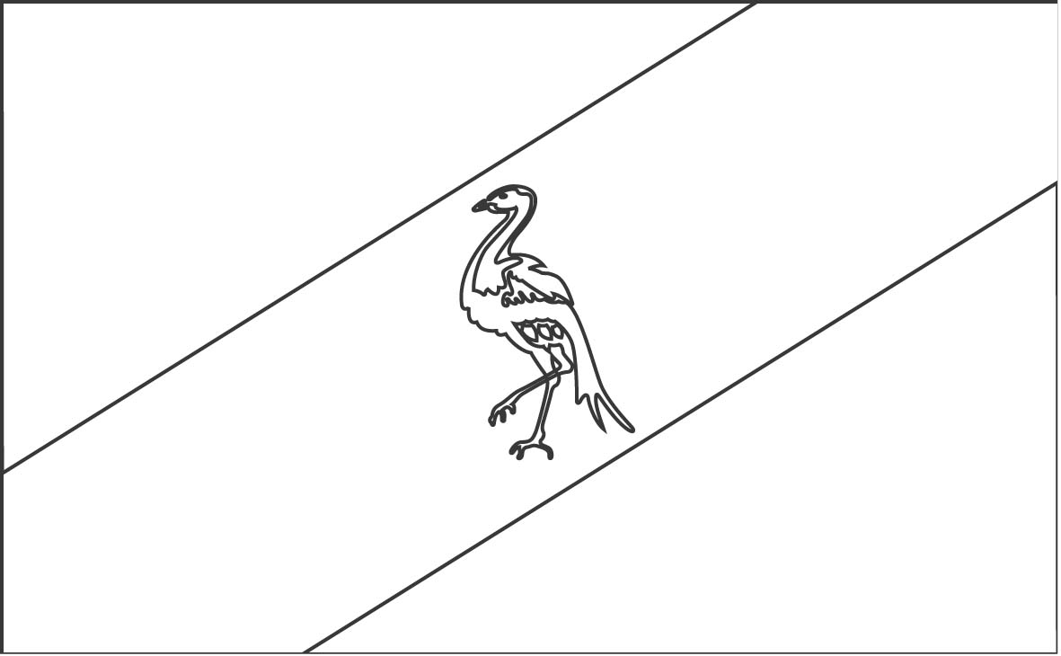 Flags Coloring Pages 17 Coloring Kids