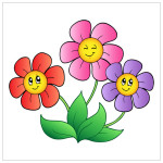 Flowers Cartoon Picture