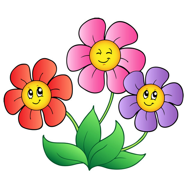 download flowers cartoon picture
