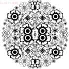 Flowers-mandala