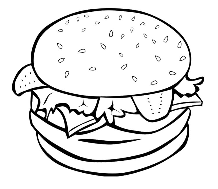 Food Coloring Pages1 Coloring Kids