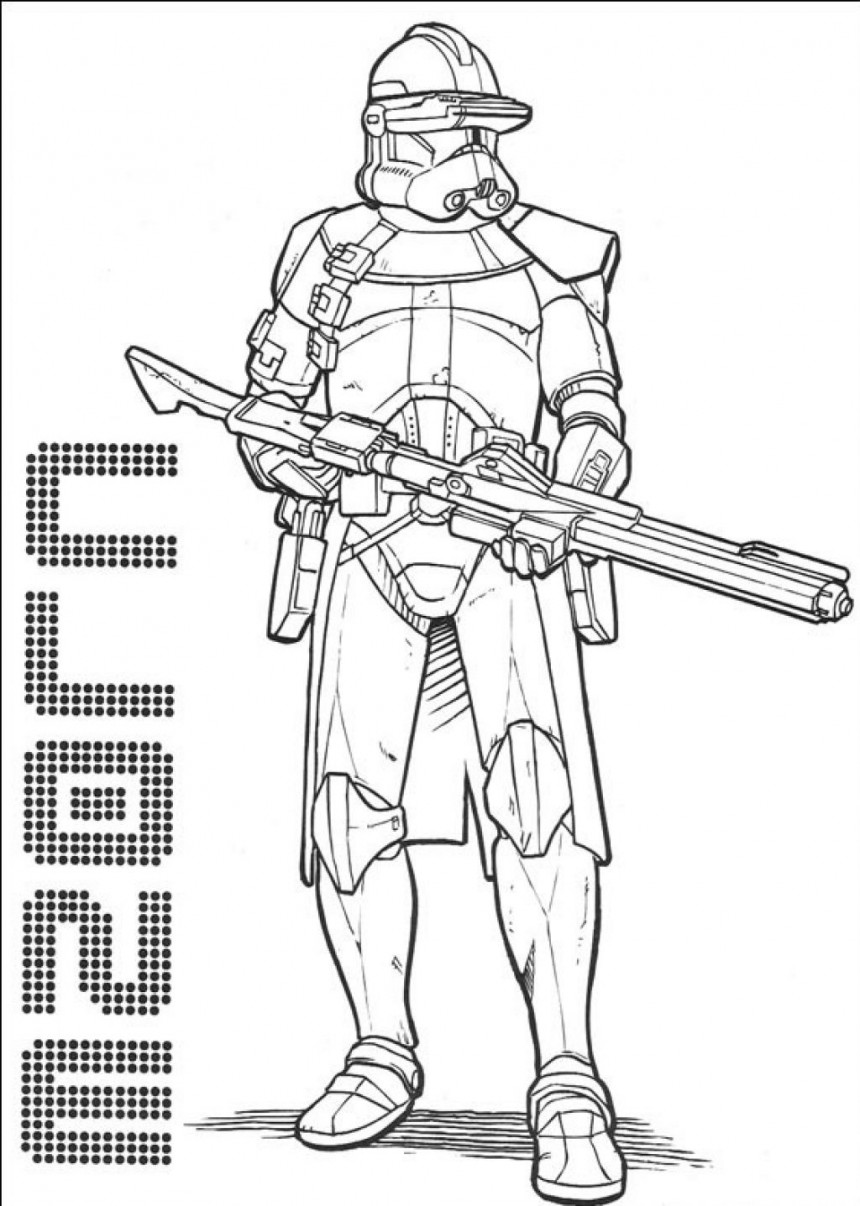 download free coloring pages of star wars 3 - Printable Coloring Pages Star Wars