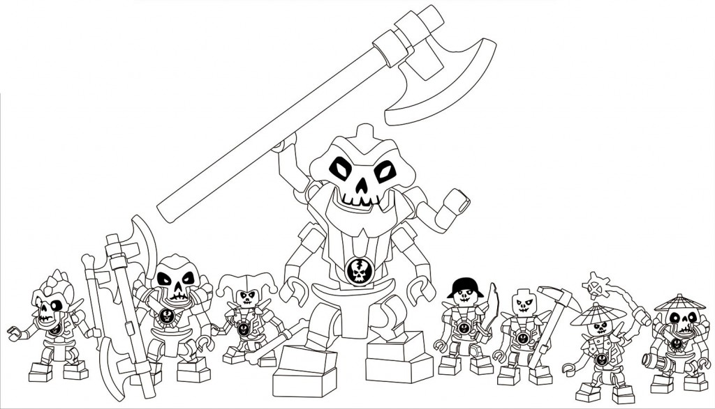 Free-Lego-Ninjago-Coloring-Pages - Coloring Kids