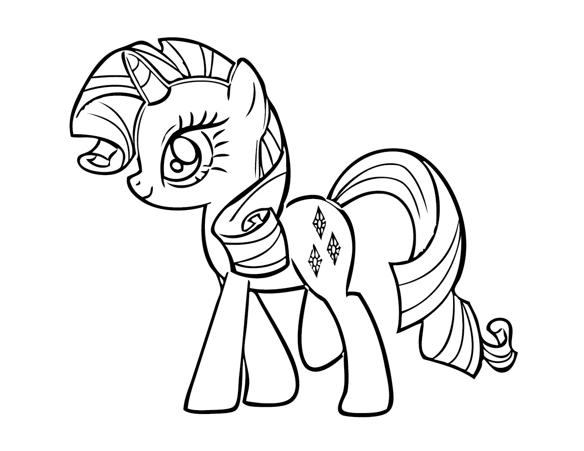 download free printable my little pony coloring pages for kids - Coloring Pages Free