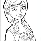 frozen coloring pages 1 140x140 Frozen Coloring Pages