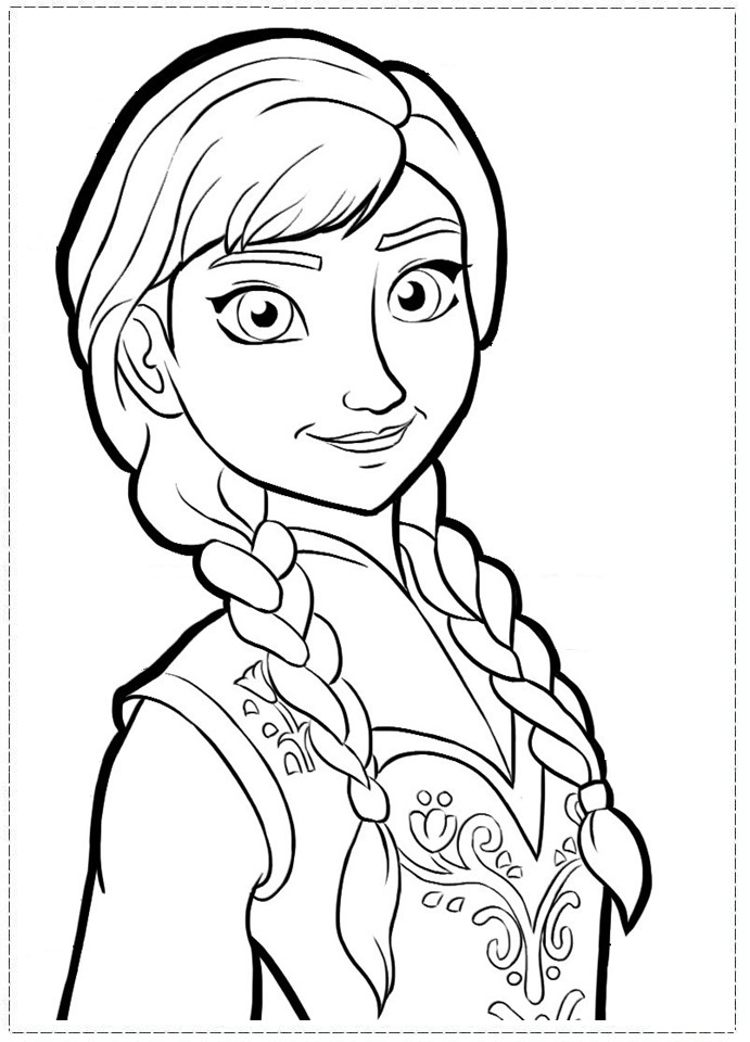 download frozen coloring pages 1