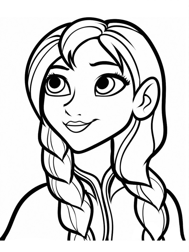 free kids coloring pages frozen - photo#6