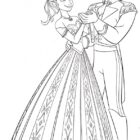 frozen coloring pages 2 140x140 Frozen Coloring Pages