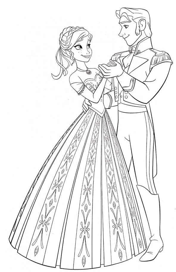 Free Coloring Pages Of Frozen 2