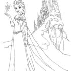 frozen coloring pages 3 140x140 Frozen Coloring Pages