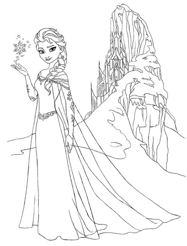 free kids coloring pages frozen - photo#30