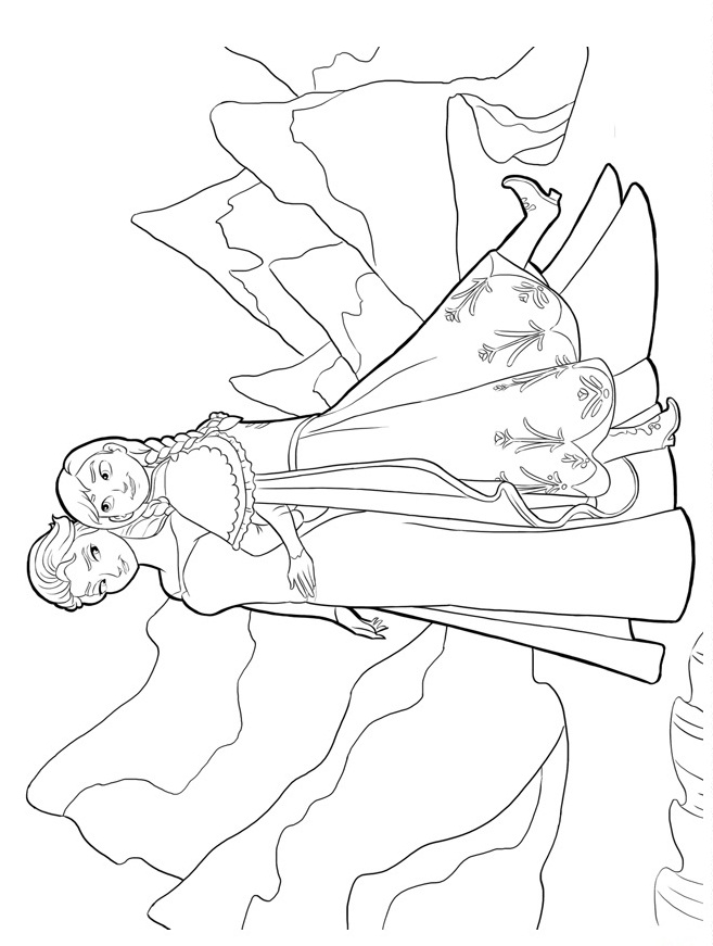 Download Frozen Coloring Pages 6