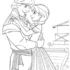 frozen coloring pages 9 140x140 Frozen Coloring Pages
