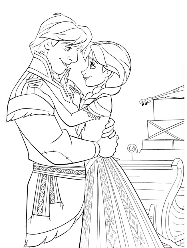 Frozen Coloring Pages 9