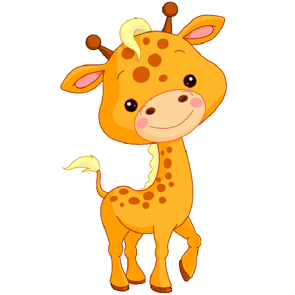 Giraffes Coloring Pages
