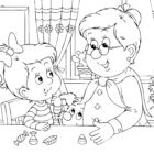 Grandparents Day Coloring Pages Free Download - Texas Life!