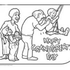 Grandparents Day Coloring Pages Free Printable | Grandparents Day ...