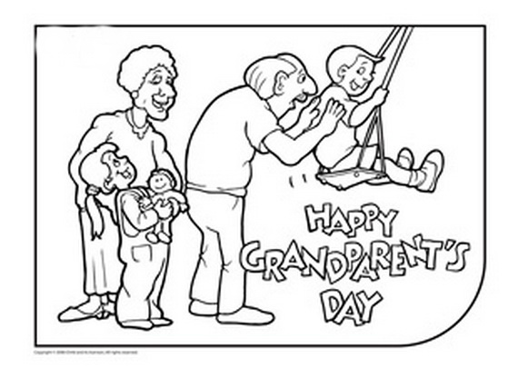 download grandparents day coloring pages free printable grandparents day