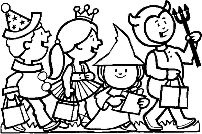 Halloween Coloring Pages 27