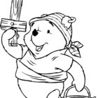 Halloween Pooh Pirate Costume Coloring Pages For Kids Free …