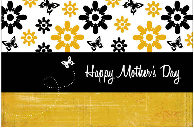 mother day card print