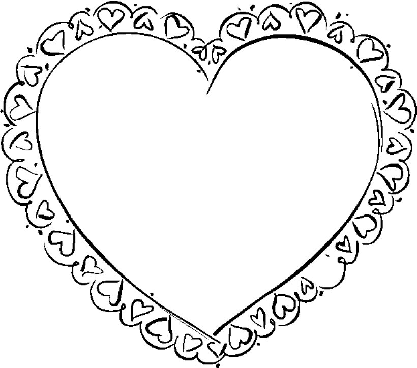 Heart Coloring Pages 11 Coloring Kids