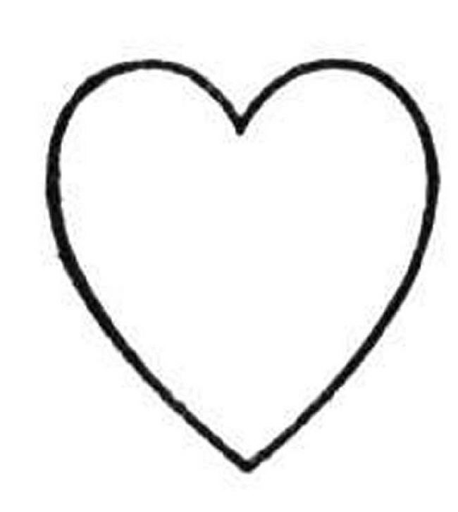 Download Heart Coloring Pages 13 Print