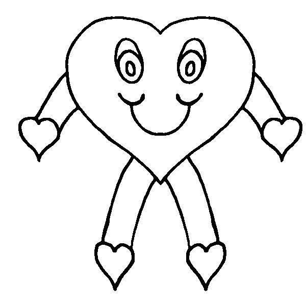 download heart coloring pages 8