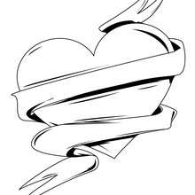 Heart Coloring Pages (9)