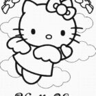 Hello Kitty Coloring Pages (13)