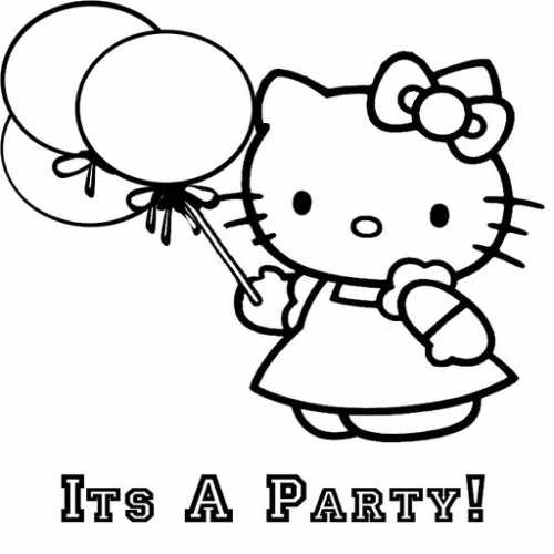 Hello Kitty Coloring Pages (15)