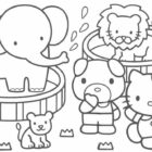 Hello Kitty Coloring Pages (17)