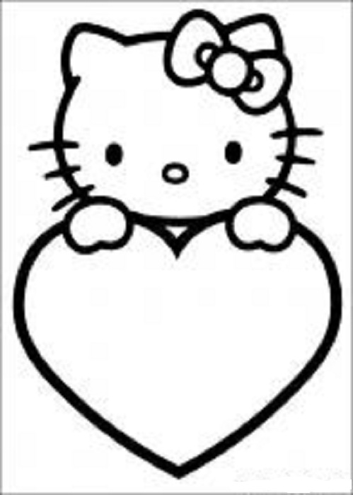 hello kitty coloring pages 8 coloring kids - Colouring Pages Of Hello Kitty