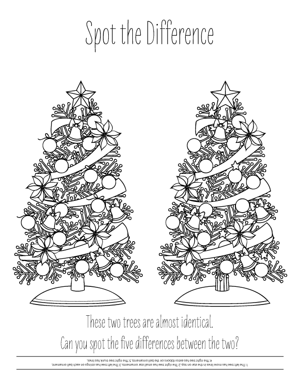 Holiday Coloring Pages (3)