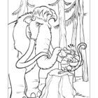 Ice Age Coloring Pages (7)