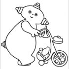 Free Coloring Pages Of Se Or Iggle Iggle Piggle Iggle Piggle Colouring Pages