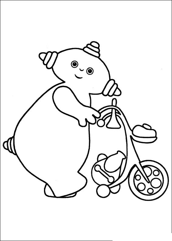night garden coloring pages print - photo #27