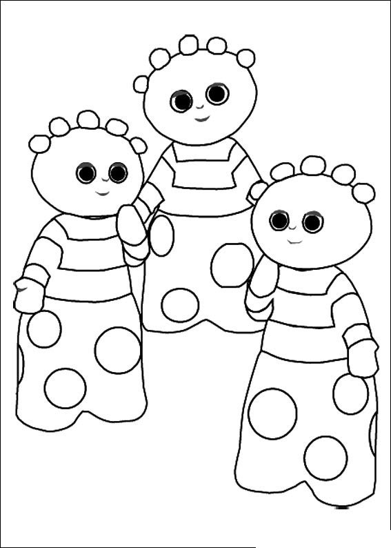 night garden coloring pages print - photo #9